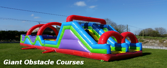 Galway Bouncy Castles Giant Obstacle Course