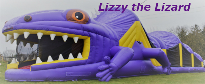 Lizzy the Lizzy @Galway Bouncy Castles