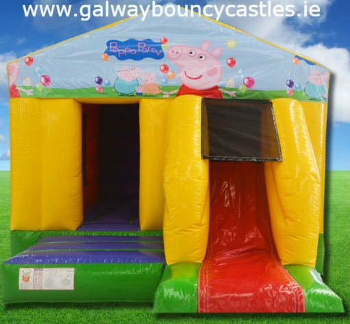 Peppa Pig @ Galway Bouncy Castles